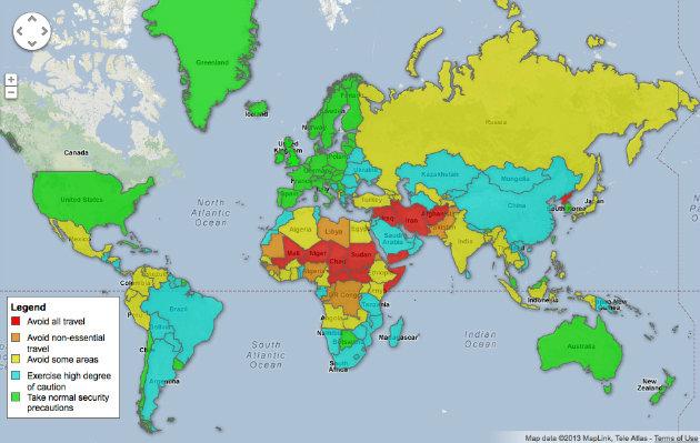 map, travel,