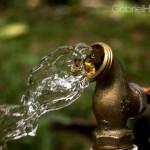 faucet, water, splash, still