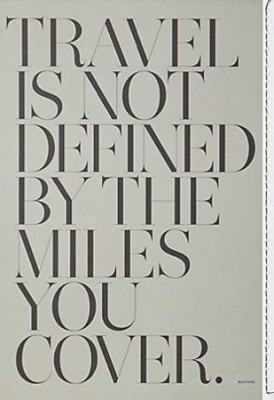 travel is not defined