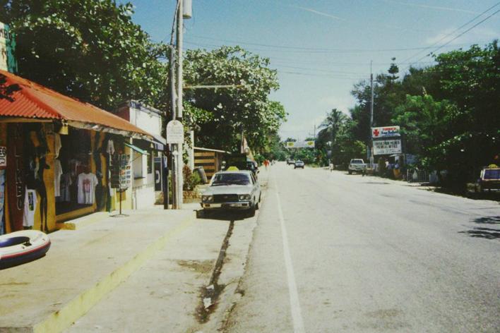 cabarete, street, old, nature