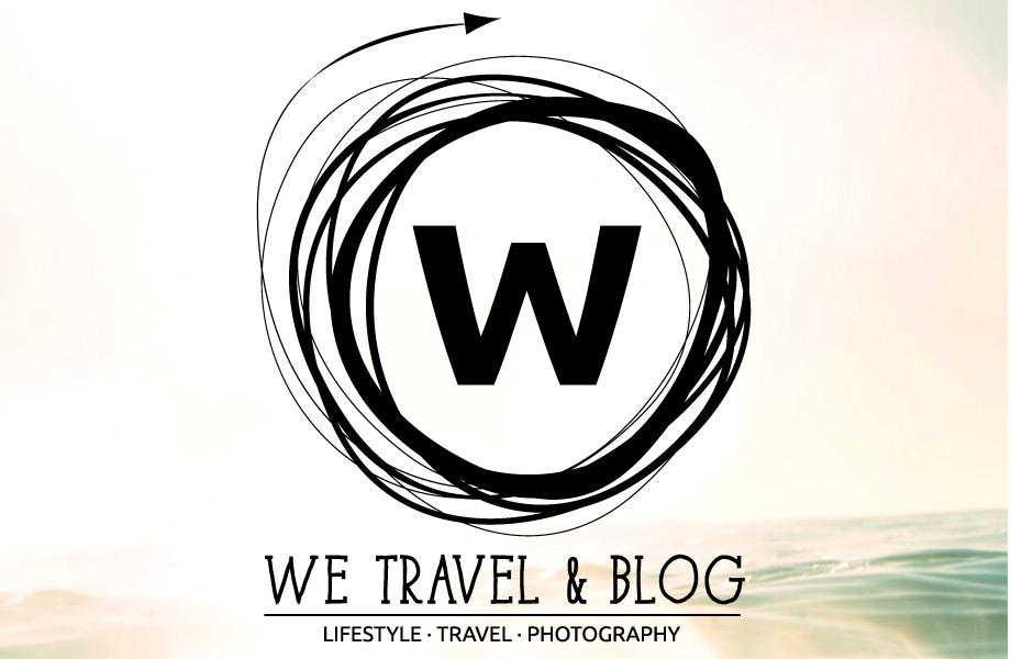 we travel & blog, we travel and blog, wetravelandblog, logo, retro insignia, travel lifestyle photography, travel, lifestyle, photography, logo, W logo, bokeh, ocean,