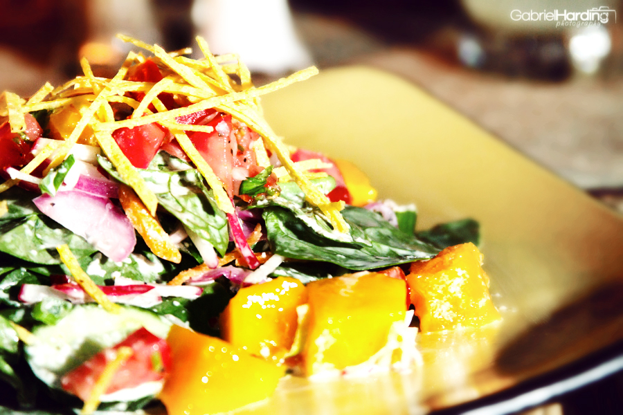 Spinach Mango Salad, La Cantina, Cabarete, Food Friday, Review