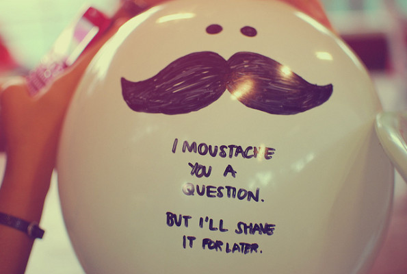 balloon, retro, filter, instagram, moustache, I moustache you a question, marker, hand written, typography, quote, funny, cute, movember