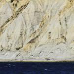 wall, mountain, ocean, beach