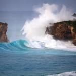 swell, cliff, wave, huge wave, surf, splash, wave breaking against cliff, wetravelandblog.com
