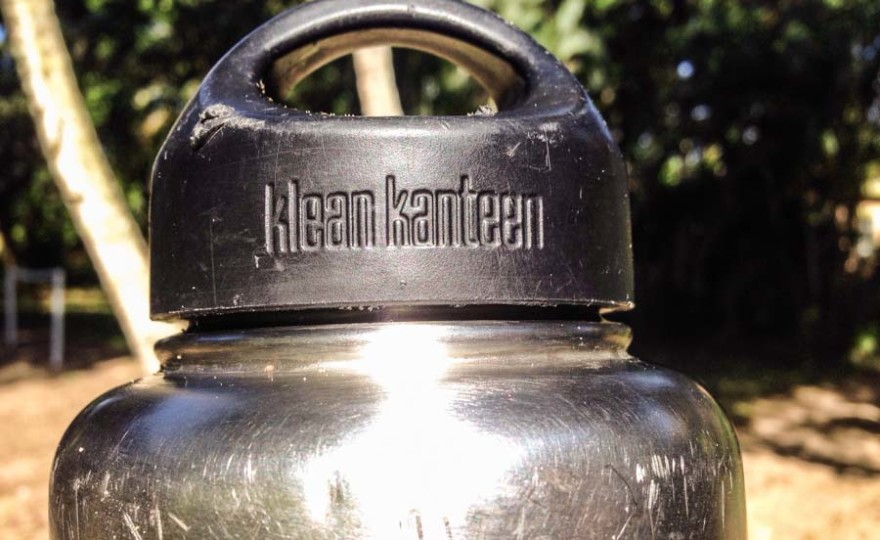 Klean Kanteen review, cap, steel water bottle, durable