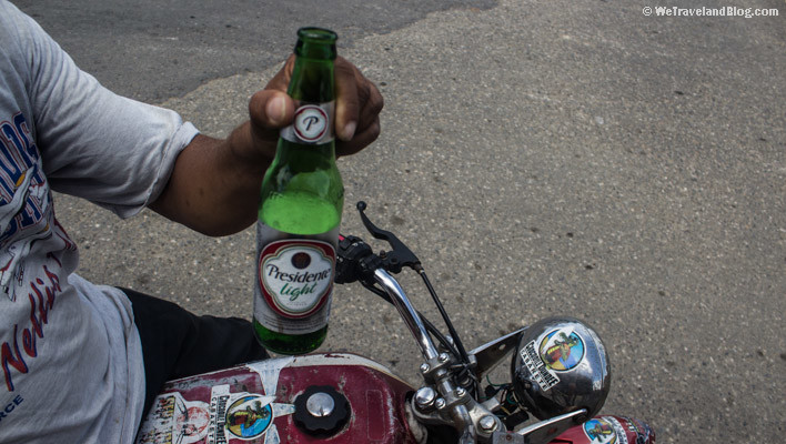 beer, riding, motorcycle, moto