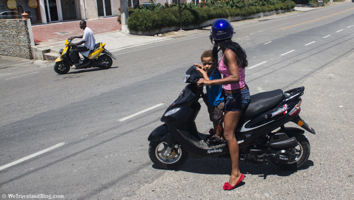 motorcycle, helmet, child, no helmet