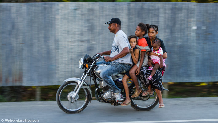 people, group of people, motorcycle, baby