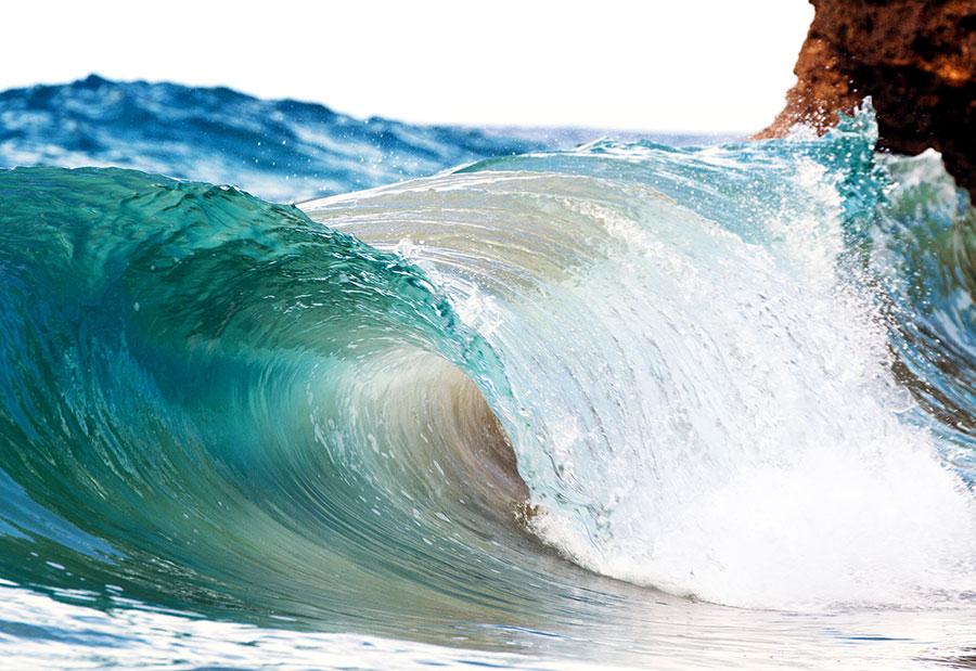 wave, teal, green, blue, barrel, tube, ice, glass, sosua, dominican republic, http://wetravelandblog.com