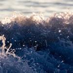 wave, splash, ocean, water