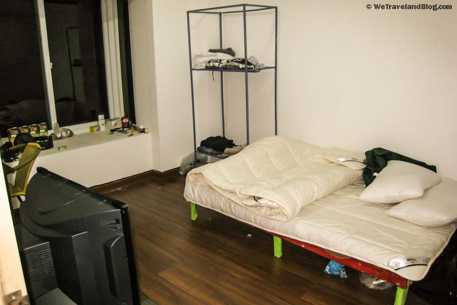 China Culture Shock, bed, room, picture of a room in china