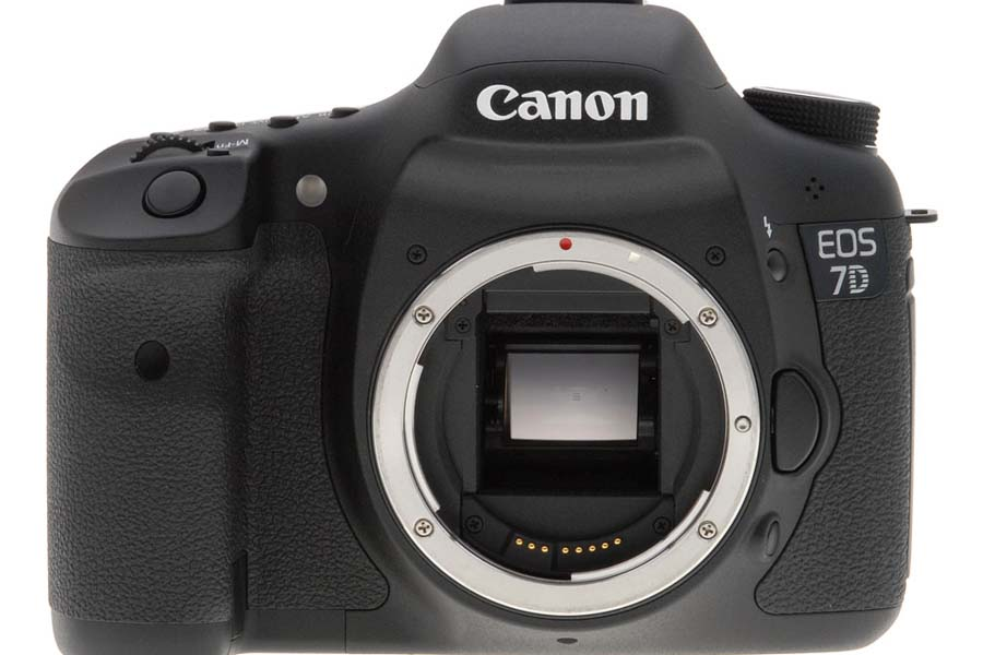 dslr, canon, 7D, front