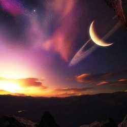 alien planet outer space
