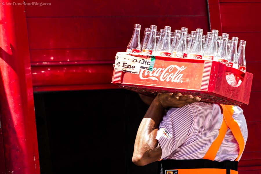empty, coke, coke bottles