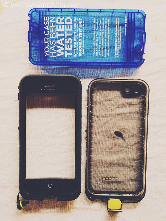 LifeProof case in Pieces