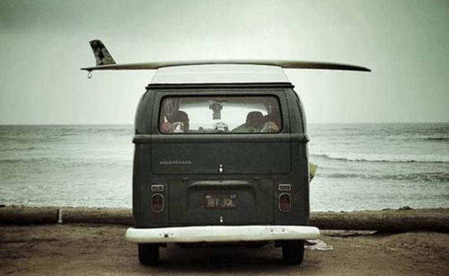surfboard, jeep, minivan, surf trip