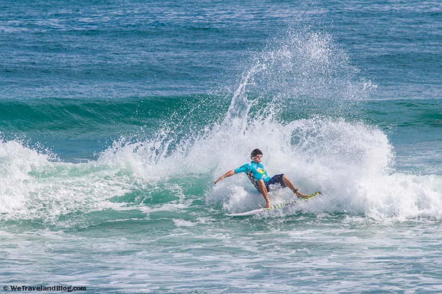 surf, surfing cabarete, wave, surfer, big splash
