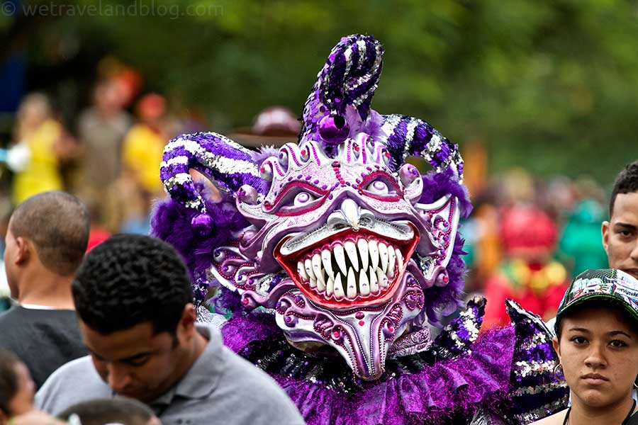 fiesta fiesta carnival n republic we travel and blog carnival n republic carnival purple big teeth creepy