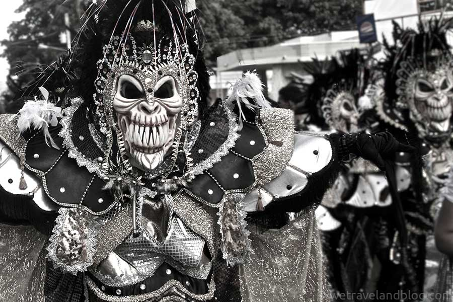 monkey men carnival dominican republic