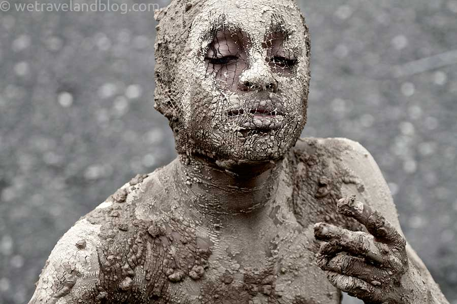 mud men carnival dominican republic
