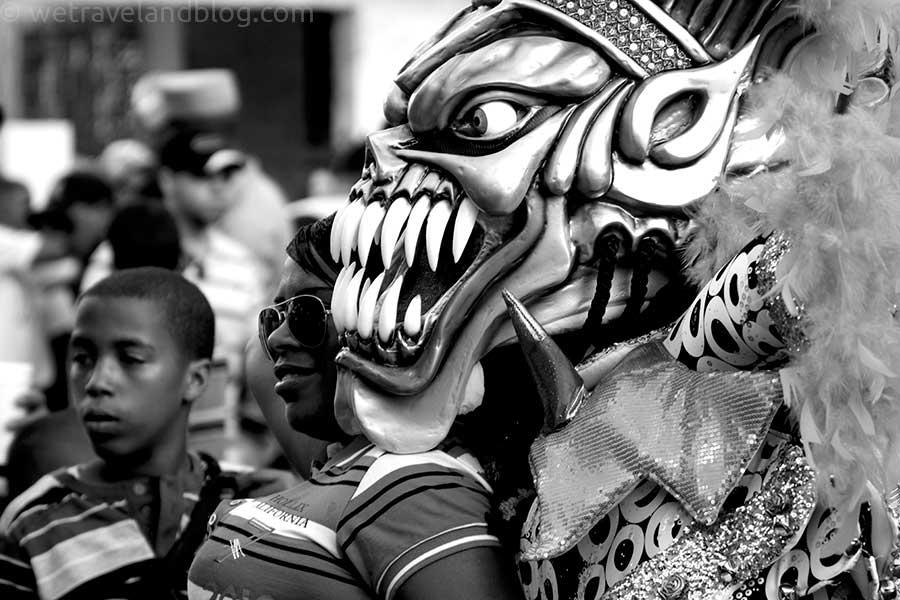 posing carnival dominican republic