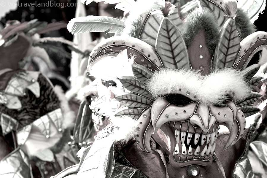 tribal mask carnival dominican republic