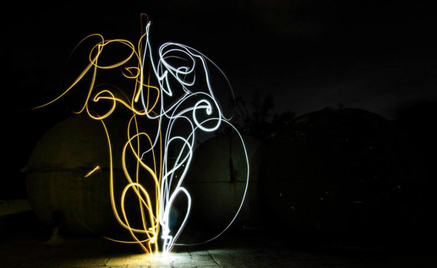 Coleman Mini Lantern Light Painting-1