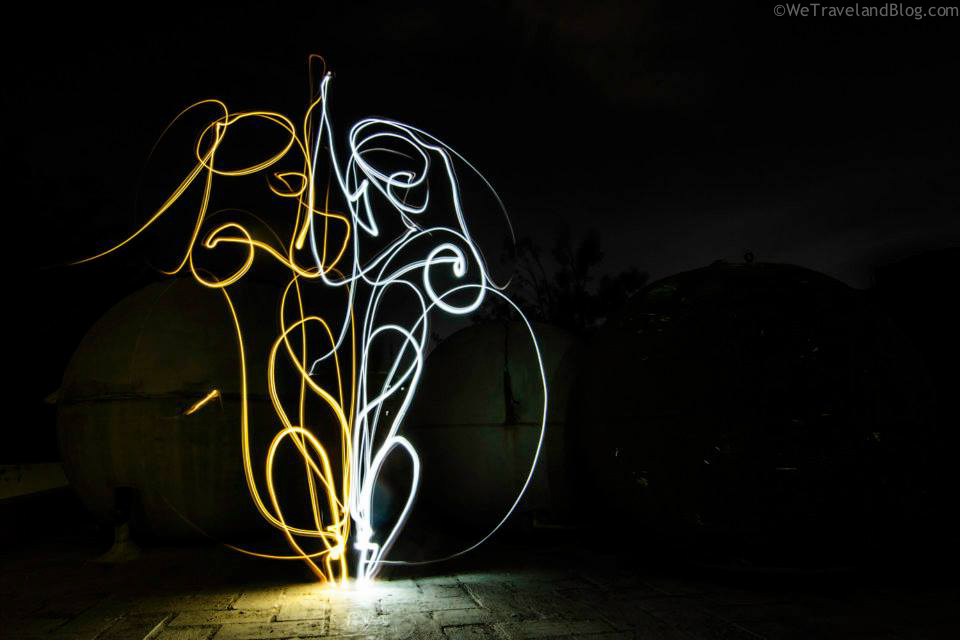 amazing light painting lights - coleman mini lantern review