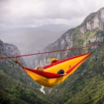 slackline, hammock, amazing, scary