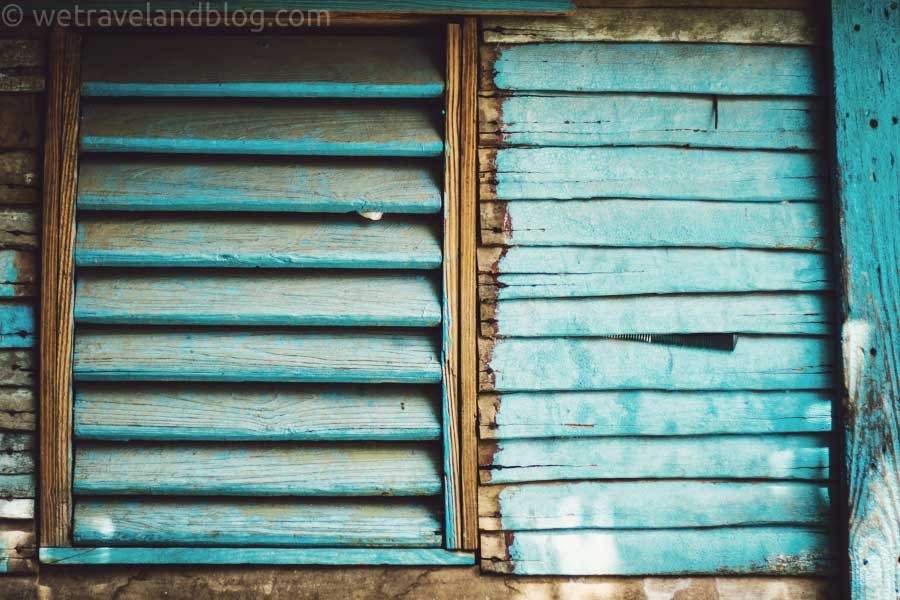tropical, teal, tiffany blue, rural, dominican republic, shutters, http://wetavelandblog.com