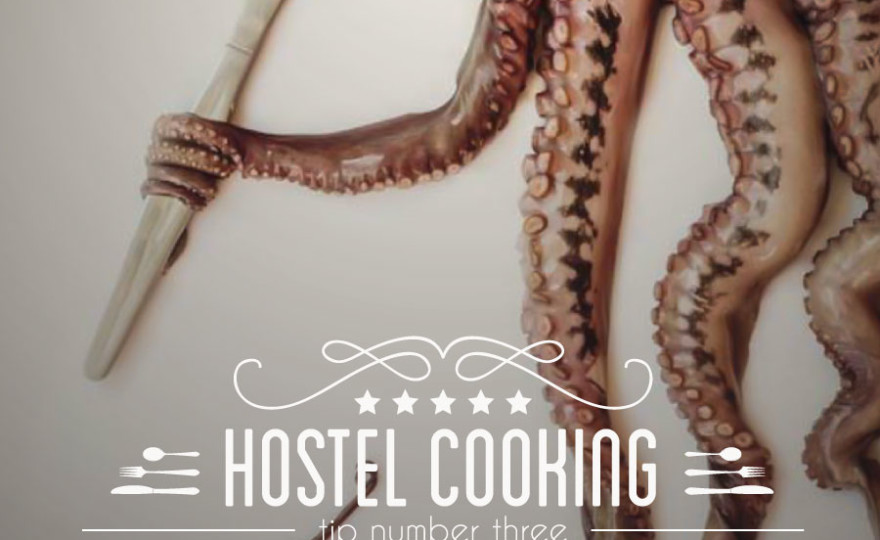 typography, vintage, insignia, kitchen, kitchen tips, octopus, tentacles, butter knife, how to sharpen a knife, http://wetravelandblog.com