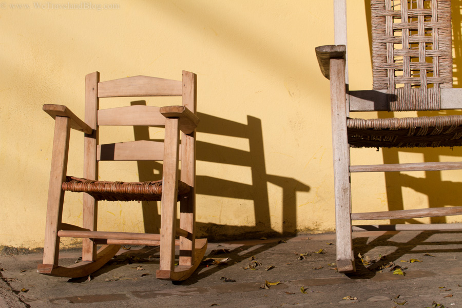rocking chair, father and son, sunshine, country life, local life, dominican republic, http://wetravelandblog.com