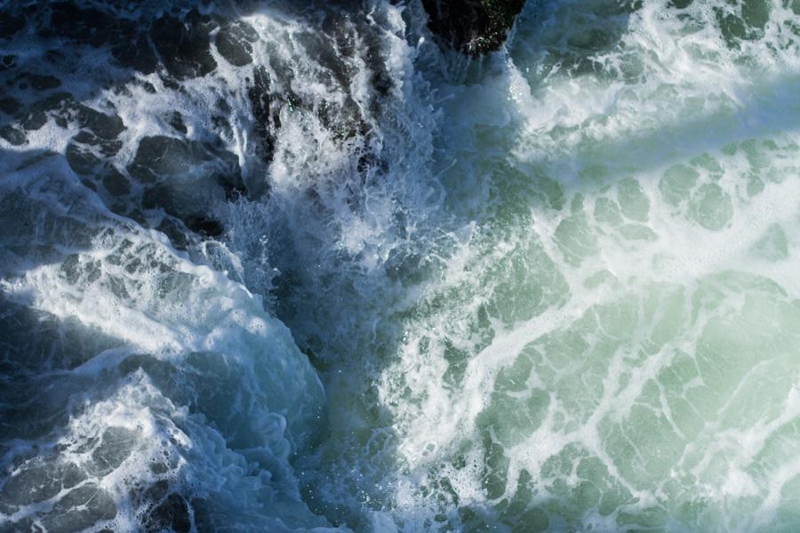 reef, ocean, water, waves, white, green