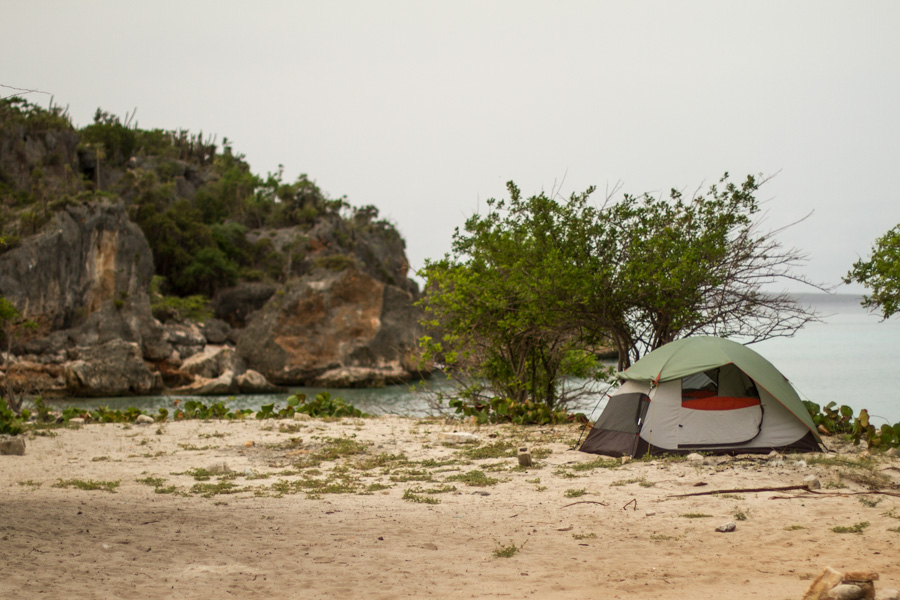 camping, tent, beach camping