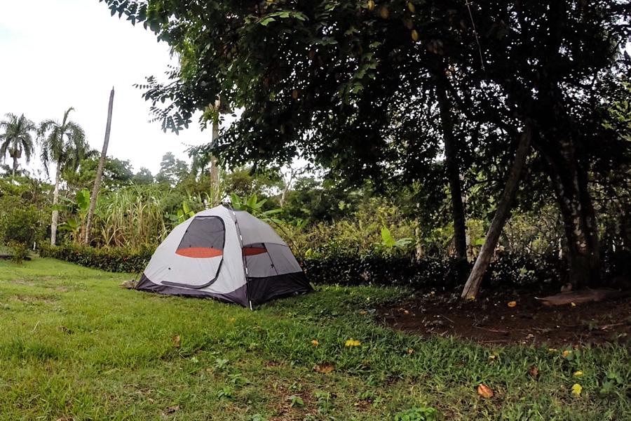 Camping aldea ecologica