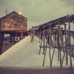 salt farm, salt, tough life, work, labor