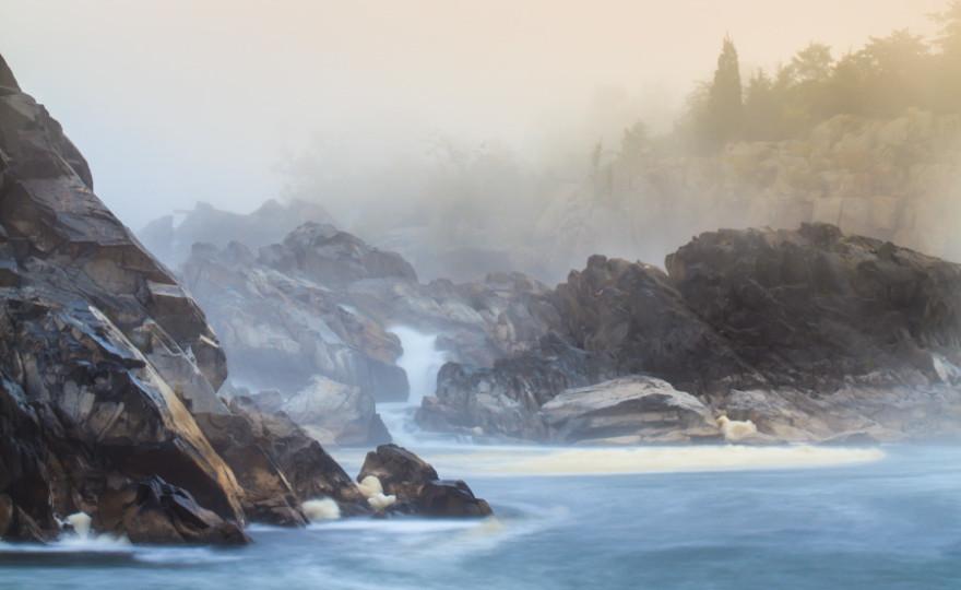 narnia, great falls, maryland, usa, long exposure