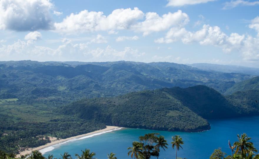 playa el valle, beach, ocean, landscape, dominican republic