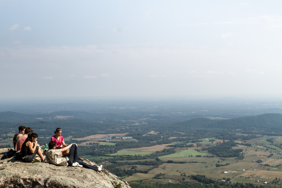 Old Rag Mountain, superhero, hiking, forrest, green, rocks, stone, maryland, child, be a child, great view, http://wetravelandblog.com