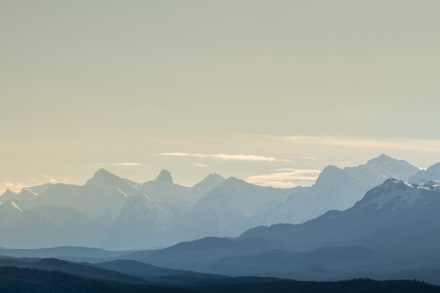 Mountain Peaks of the Rockies-3