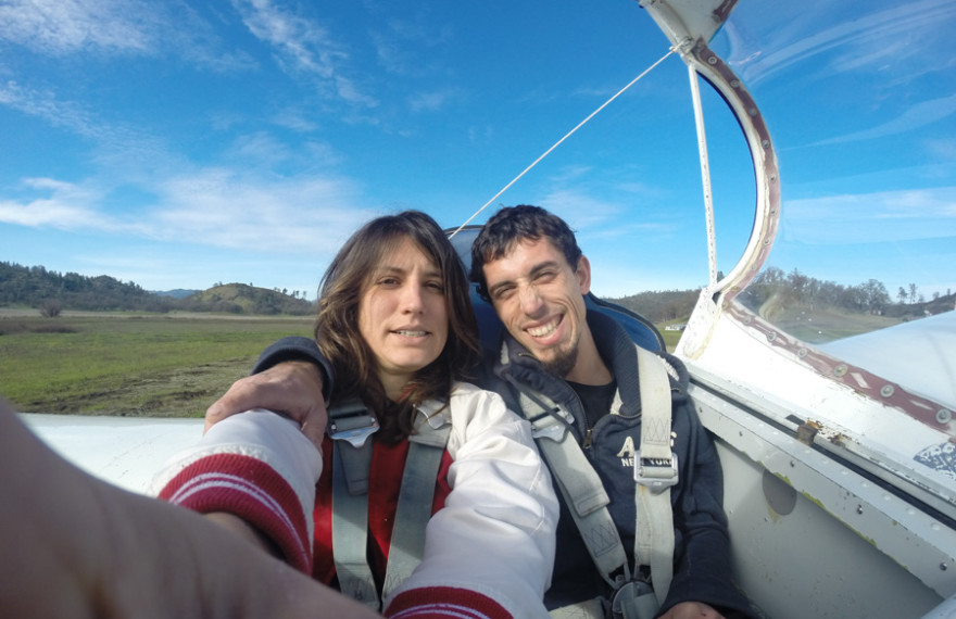 gliding, sibling love, family, california, fly,