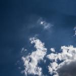 clouds, sky, blue, fluff