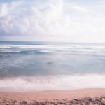 beach, dreamy, blur, blurry on purpose, beach, clouds, cloudporn, surf, surflife, distant,